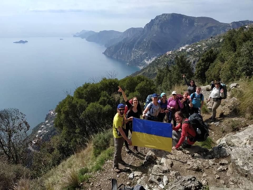 Тропа Богов - поход вдоль Салернского Залива, Италия.