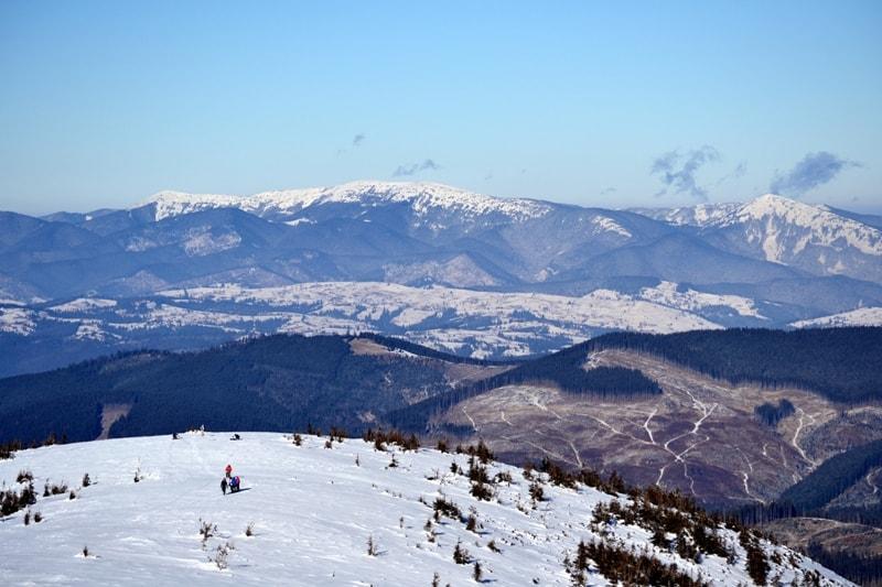 Зимові Карпати: Яремче, Говерла, Петрос!