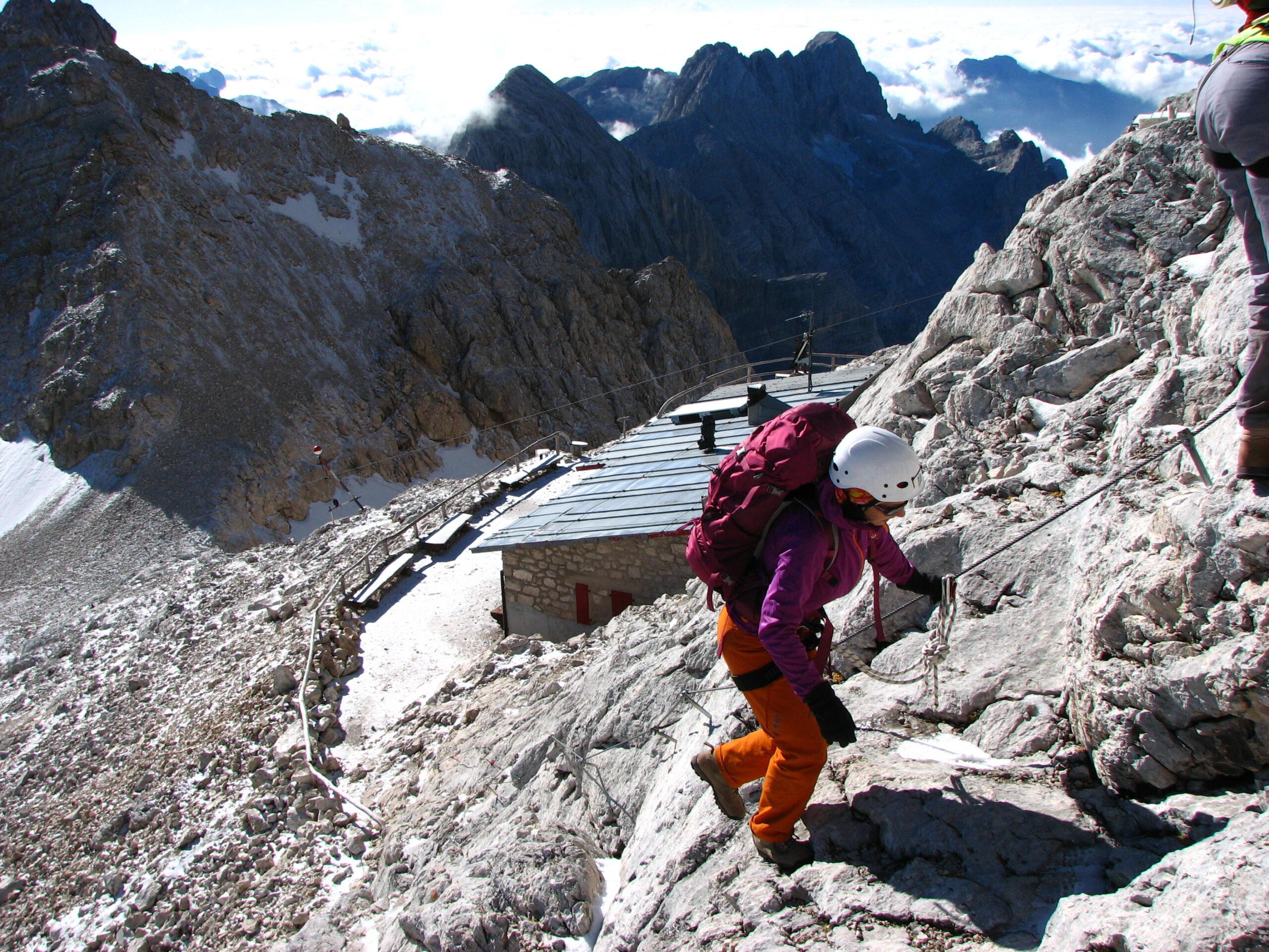 Доломитовые Альпы, Италия. Поход, виа-феррата.