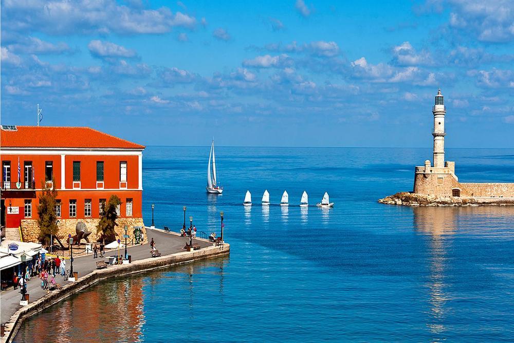 Горы, море и еда! Западный Крит, Греция.